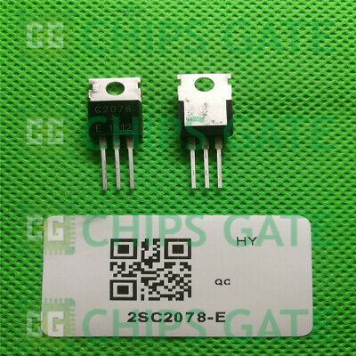 20pcs 2SC2078 TO220 27Mhz RF Power Amplifier NEW Good Quality