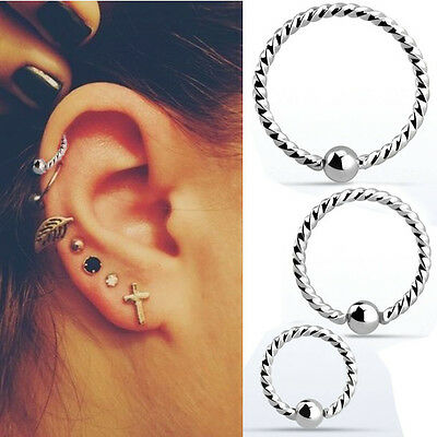 Jewelry Watches Body Piercing Jewelry 18g Helix Nose Ring Hoop