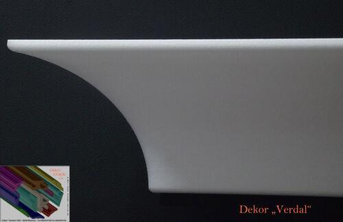 """Stuckleisten Stuckprofile Zierprofil 9 cm x 9 cm 20 Meter Dekor /""""Verdal/"""""""