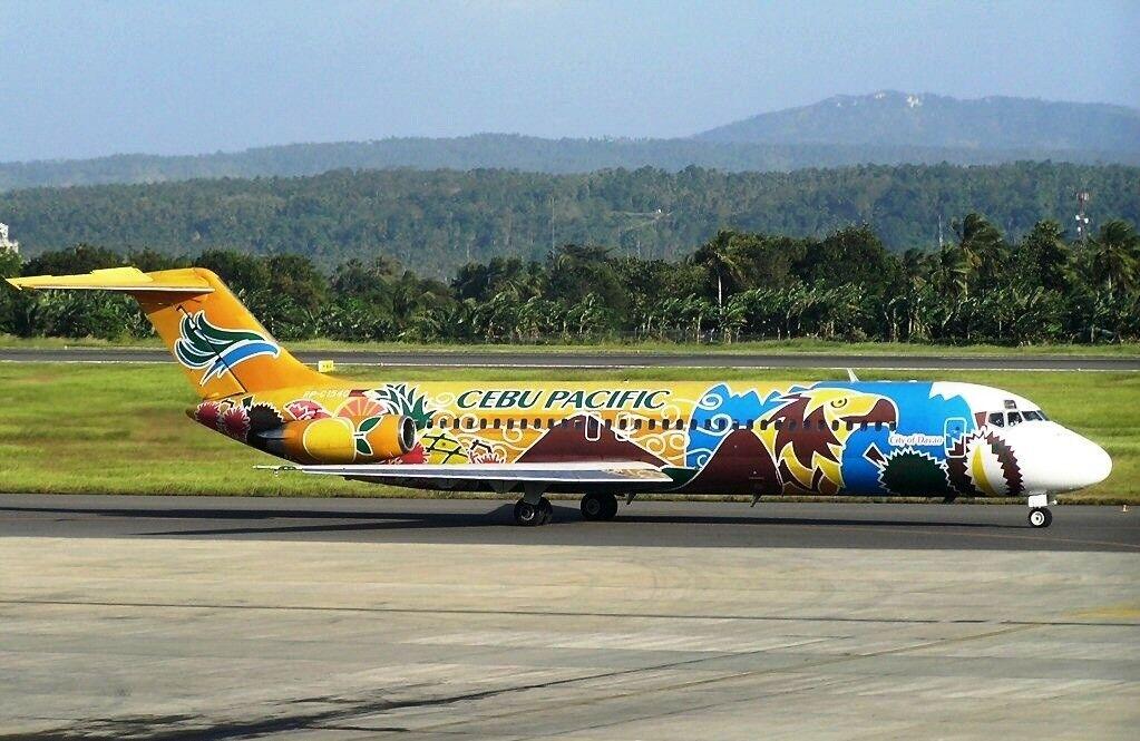 Inflight 200 IFDC 90916 1 200 Cebu Pacific Air DC-9-32 RP-C1540 avec support 72 pcs