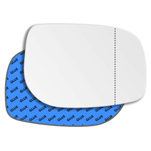Right Driver Side Wide Angle Mirror Glass for Toyota Yaris 2005-2013 0039RAS