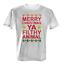 Merry Christmas Ya Filthy Animal Herren T-Shirt Weihnachten Geschenk Nikolaus