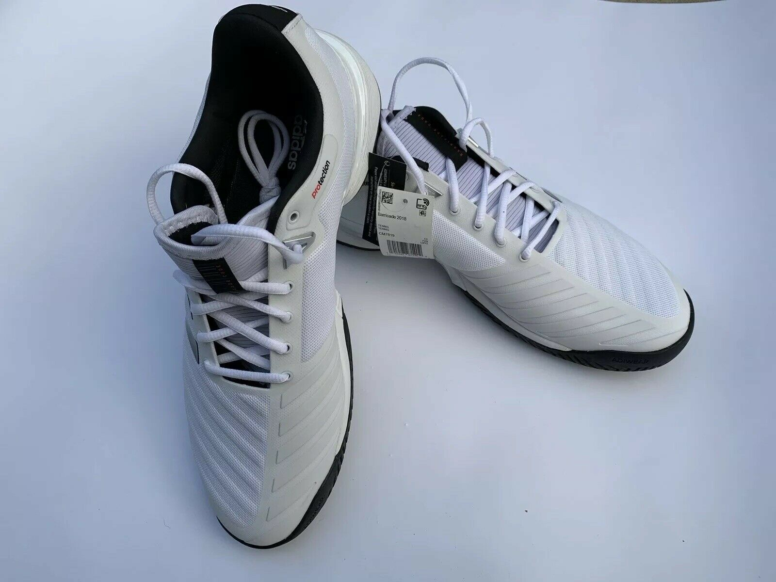 Adidas Barricade 2018 Men's Tennis shoes 11.5 US NWT