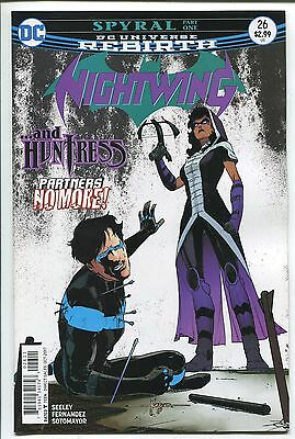 NIGHTWING #31 REBIRTH JAVIER FERNANDEZ REGULAR COVER DC COMICS//2017