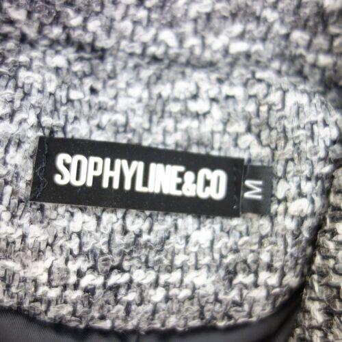 Sophyline Gris Femme 40 L Argent Sp Veste Court Taille Co Wollstruktur rgwqxHfZr