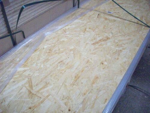 Fußboden 2500x675mm 15mm OSB-3 E1 Verlegeplatten Nut /& Feder 4-seitig Holzbau