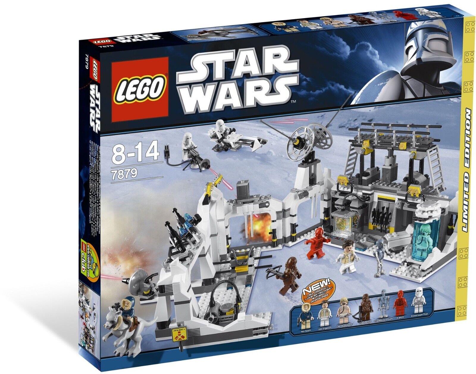 Nuevo  Lego Estrella Wars Hoth Echo Base 7879
