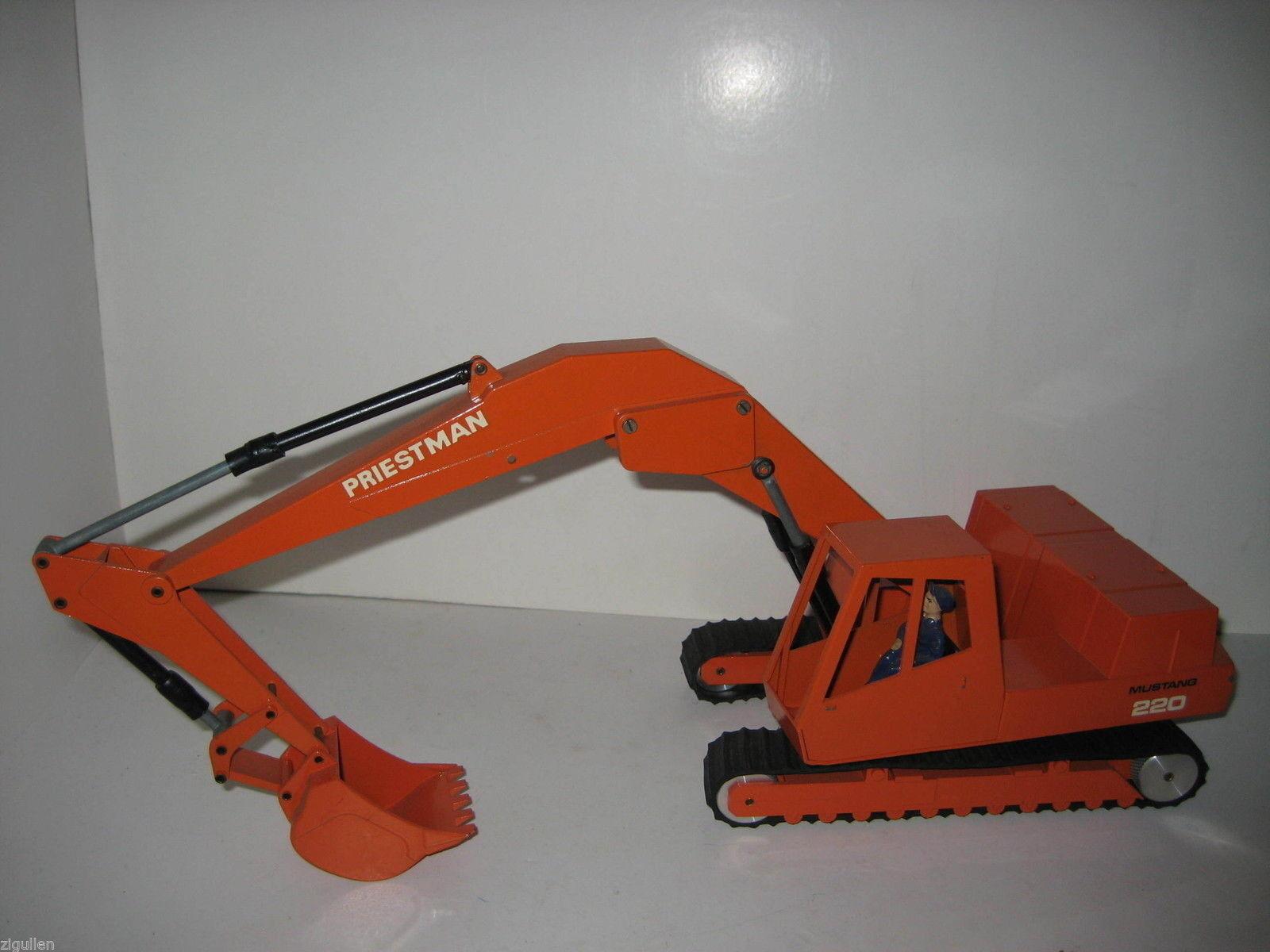 Priestman-Mustang 220 Excavateurs tieflöffel  477 Conrad 1 20