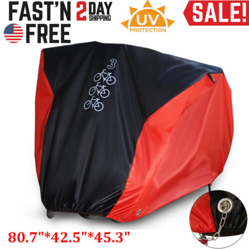 Motorcycle Bike Cover Bicycle Waterproof Motorbike BMX Outdoor Rain Dust Large