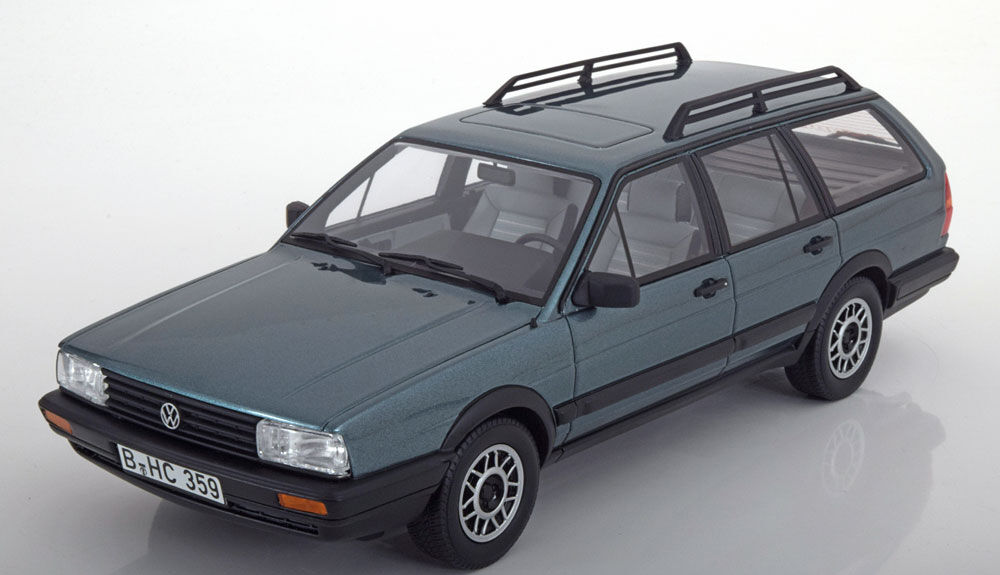 1987 Volkswagen Passat Variant GT Syncro B2 bleu by BoS Models LE of 1000 1 18