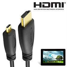 Asus Memo Pad, VivoTab, Transformer Pad Tablet Micro HDMI to HDMI TV 2m Cable