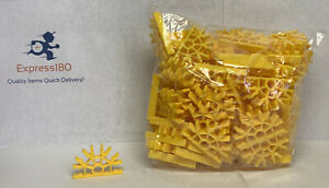300 KNEX YELLOW CONNECTORS 5-Position Bulk Standard Replacement Parts//Pieces Lot
