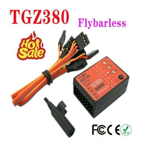1Pc Flybarless System 3 Axis Gyro TGZ380 for T-REX 450 550 600 700 RC Helicopter