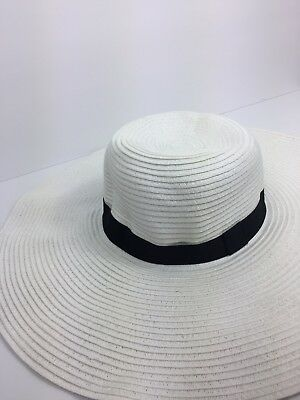 550ddb4c4c6 Details about New Womens Floppy Hat - A New Day White