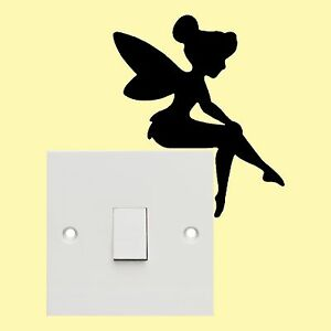 Fairy Light Switch Stickers Wall Art Decal Stickers Quality New Ebay