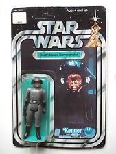 VINTAGE STAR WARS 1978 SW/ANH DEATH SQUAD COMMANDER 12BACK MOC UNPUNCHED RARE!