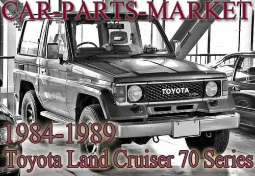 Pour Toyota Land Cruiser 1984-1989 Gauche Lhs Miroir Verre N//S Près De Côté
