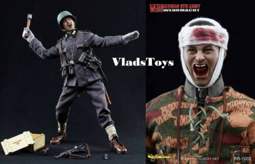 Royal Best 1//6 Scale WWII German 9th Army WEHRMACHT Johann Alber Figure RB-1002