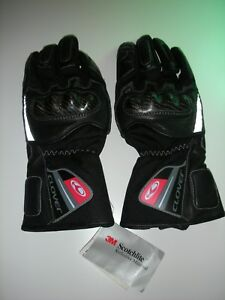 Guanti-gloves-CLOVER-Tg-S-black-NUOVI-NWT-keprotect