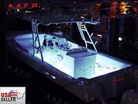 48 Pcs White Led Boat Light Waterproof 12v Deck Storage Kayak Bow Trailer Bass