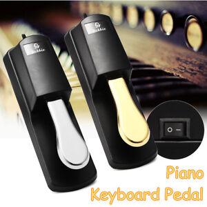 keyboard digital piano damper sustain foot pedal for yamaha casio roland korg ebay. Black Bedroom Furniture Sets. Home Design Ideas
