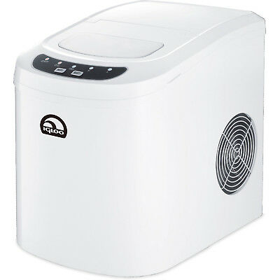 Igloo Compact Ice Maker - ICE102 White