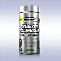 Muscletech Clear Muscle (84 / 168 Softgels) Build Lean Strength Muscle Tech