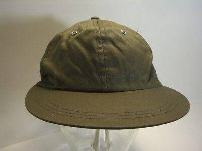 Cappello Berretto Con Visiera Basecap Oliva Cotone Gr. 57 Vero Vintage Disponibile In Vari Disegni E Specifiche Per La Vostra Selezione