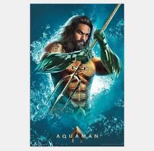 N-398 Aquaman Movie Silk Poster 12x18 24x36 James Wan Jason Momoa