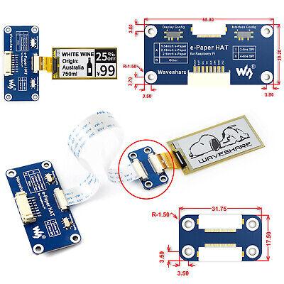 Flexibles E-Papier HAT E-Ink Screen Display SPI2.13inch 212x104 für Raspberry Pi