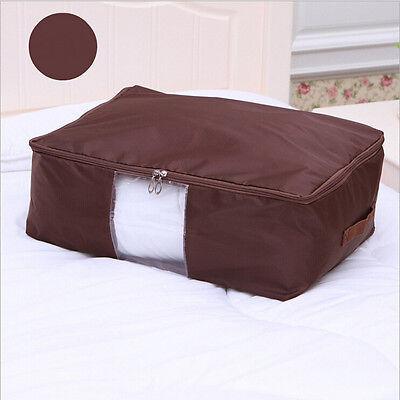 Oxford Cloth Clothes Quilt Blanket Large Folding Bag Storage Box Organizer Pouch