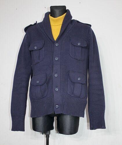 Cardigan Ultra Xl Navy Le Scotch Cotton Taglia Soda Nec Plus Fit Giacca Dark xAZ1qxCR