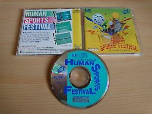 Human Sports Festival NEC PC Engine Super CDROM import Japon