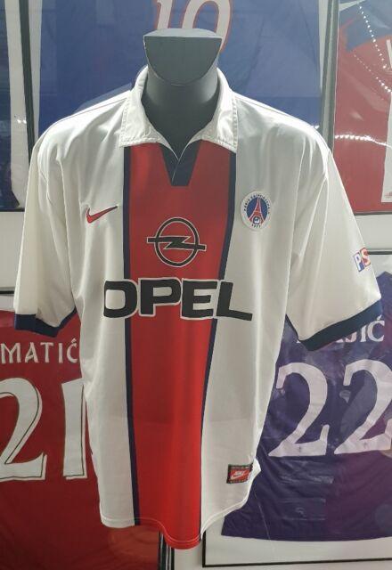 Maillot jersey shirt maglia camiseta paris psg  vintage 98 99 1998 1999 XL 98 99