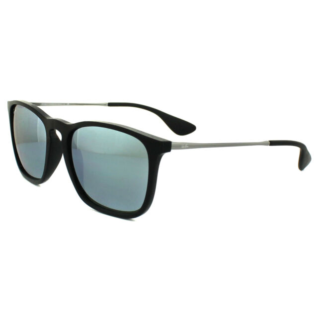 396e71aaa4 Ray-Ban Black-green Mirror Silver 0rb4187 Chris - 54mm Sunglasses ...