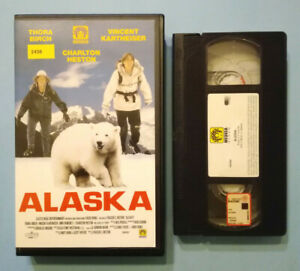VHS-Film-Ita-Avventura-ALASKA-charlton-heston-thora-birch-ex-nolo-no-dvd-cd-V24