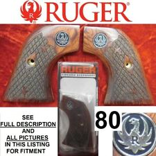 Factory Ruger Rosewood Laminated Wood Grips No-lock Single