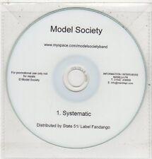 (ET689) Model Society, Systematic - DJ CD