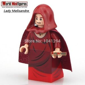 Custom Game of Thrones minifigure - Lady Melisandre Red Hood