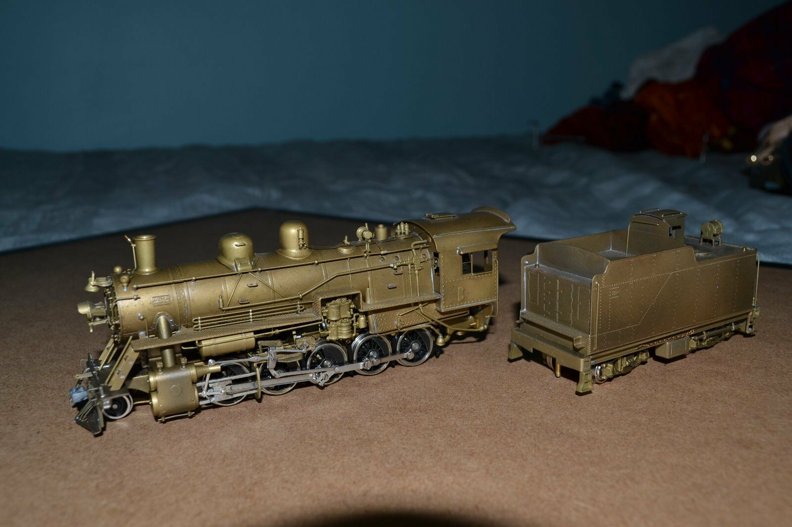 United PFM Brass - Frisco 2-10-0 Russian - HO Scale - Runs Poorly, Needs Tune-up