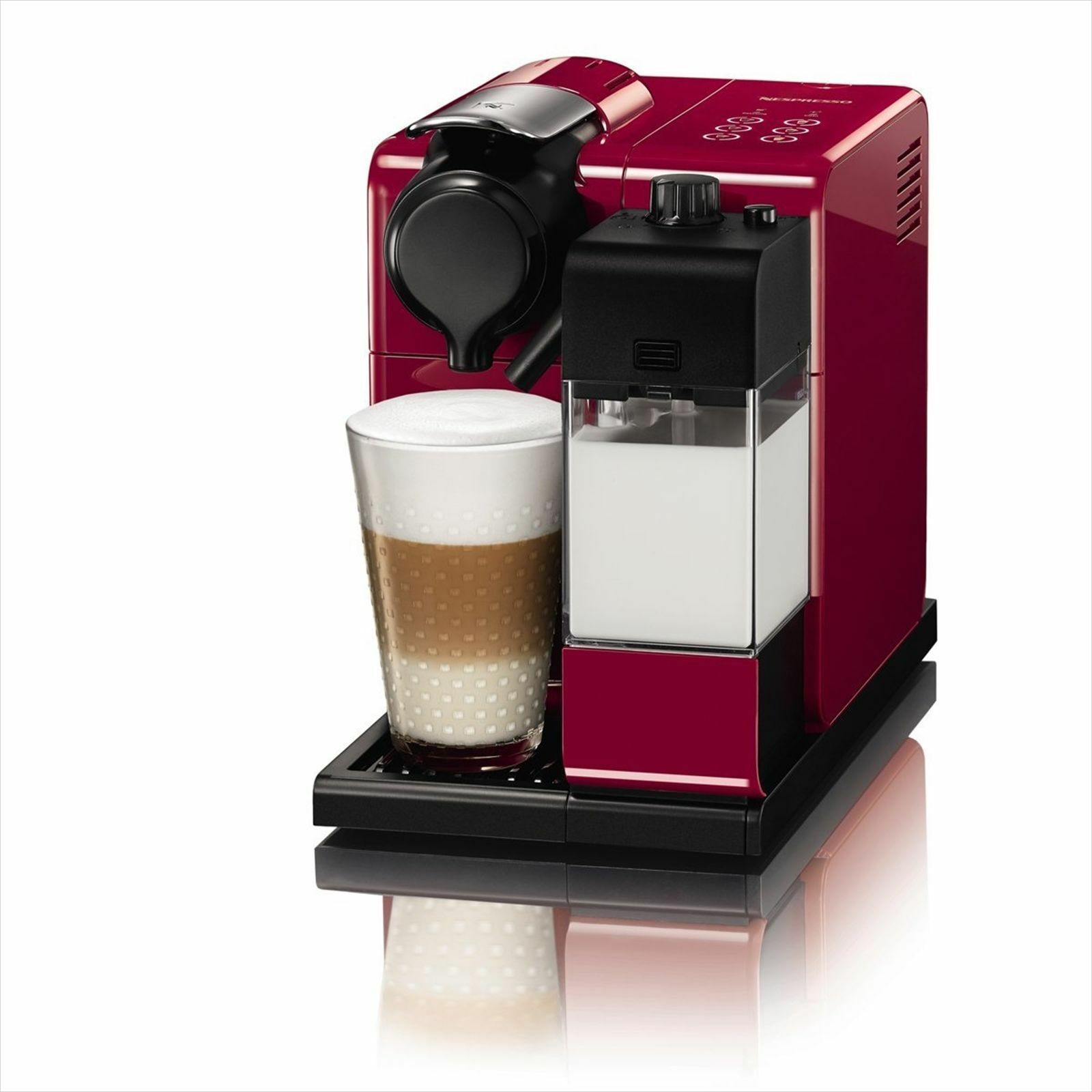 F511RE Red Nespresso coffee maker Ratishima Touch F S from JAPAN