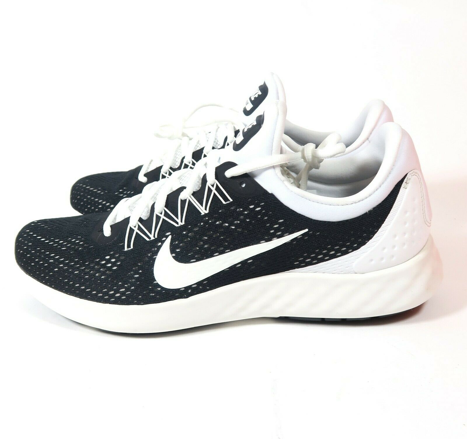 new product a17be 6b15f Men s Nike Lunar Skyelux H shoes 889270 889270 889270 001 Mult Sizes Black  Sumit White 09be8a