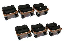 (2) Snow Plow / Blade ROL-A-BLADE Caster Dollie Set of 6 - EASY Storage & Moving