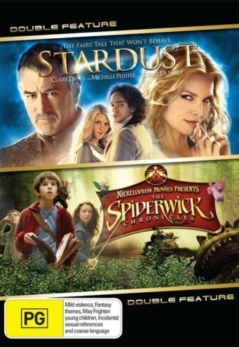 1 of 1 - The Stardust  / Spiderwick Chronicles (DVD, 2009, 2-Disc Set)