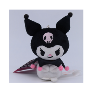 Kuromi-3-039-plush-doll-stuffed-toy-gift-strap-key-chain-ring-birthday-gift-new-B