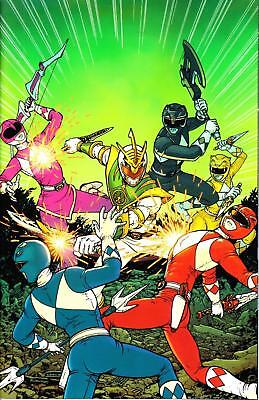 Mighty Morphin Power Rangers #27 Shattered Grid Boom comic 1st Print 2018 NM