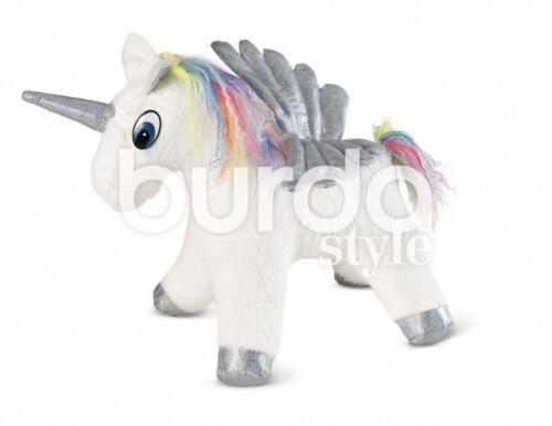 BURDA Crafts sewing pattern 6495 animal en peluche cheval /&... Gratuit UK p/&p
