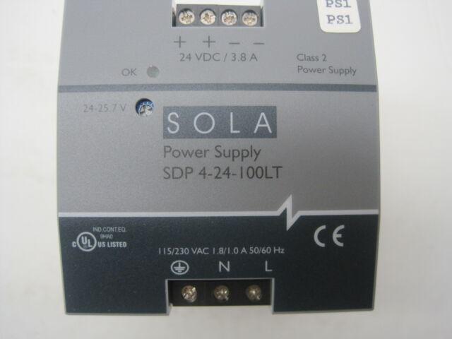 Sola SDP 4-24-100LT Power Supply