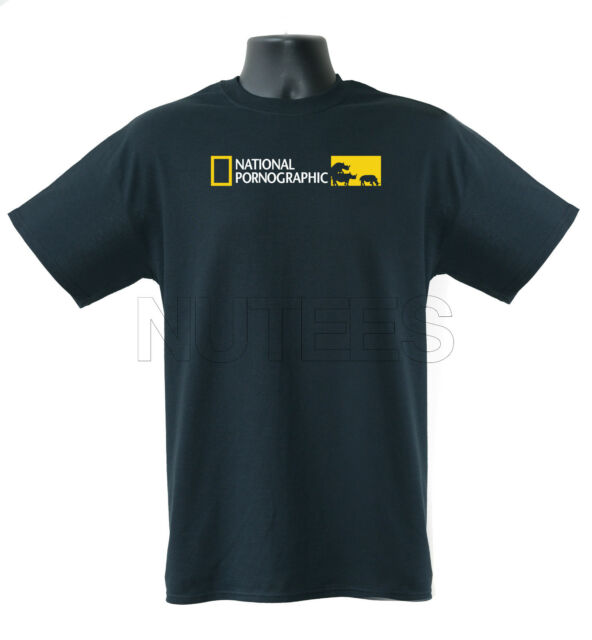 National Pornographic Funny National Geographic Inspired T-Shirt S-XXL
