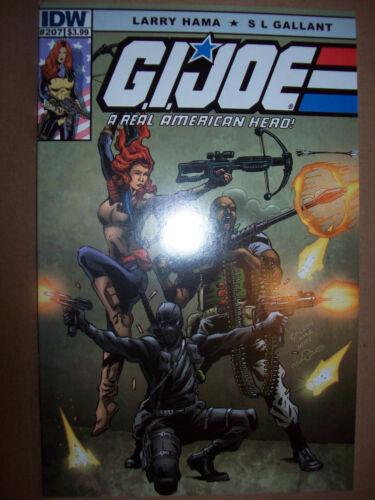 G.I JOE A Real American Hero # 207 cover A IDW